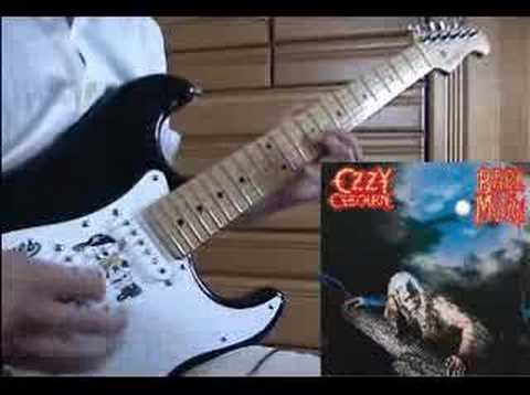 OZZY Jake E Lee - Bark at the Moon (guitar cover)