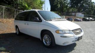 1999 Chrysler Town and Country Limited All Wheel Drive Start Up, Engine, and In Depth Tour