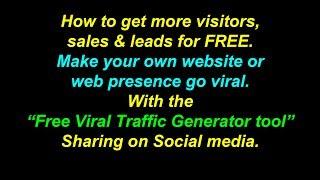 Free Viral Traffic Generator Tool Share On Social Media