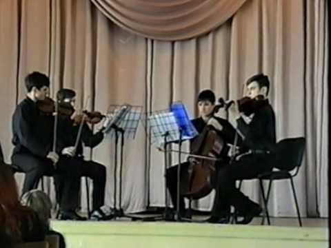 "Charles Camilleri String Quartet No.2 ""Silent Spaces"" - The Stolyarsky String Quartet"