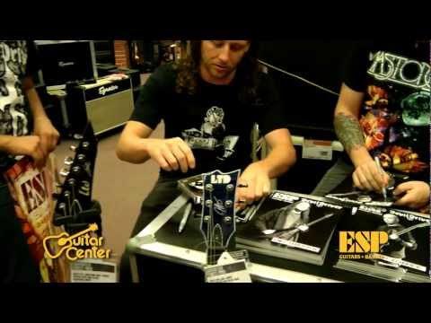 ESP Guitars: DevilDriver In-Store Interview at Guitar Center