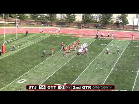St John Fisher vs Otterbein University Football 9/7/13