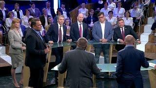 Казаки избили навального