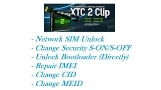 XTC 2 Clip /HTC Service Box/  - Tutorial #2 - FTM / Factory Test Mode