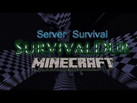 Server survival minecraft 1.8/¡TODAS! SurvivalDub [No hamachi] [Premium y no premium]