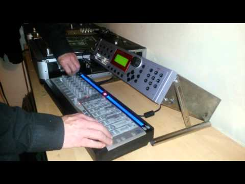 Aontaigh EMU Sampler ESI2000/4000 Novation Remote Full Live Set/Jam January 2015