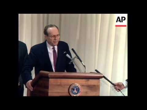 USA: WASHINGTON: DEFENCE SECRETARY PERRY SPEAKS OUT OVER CUBA