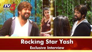 Rocking Star Yash Full Interview With TV5 Kannada Exclusive   #YASH  ರಾಕಿಂಗ್ ಸ್ಟಾರ್ ಯಶ್  #TV5Kannada