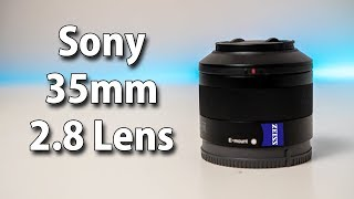 Sony Zeiss 35mm 2.8 Lens Review