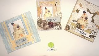 Simple Picture Cards - Scrapbooking tutorial / Aida Handmade