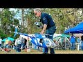 BIG RC HUGHES-500 ELECTRIC SCALE MODEL HELICOPTER FLIGHT DEMONSTRATION