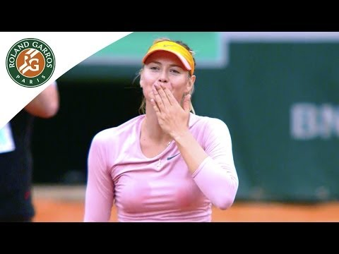 Maria Sharapova's road to the 2014 French Open final