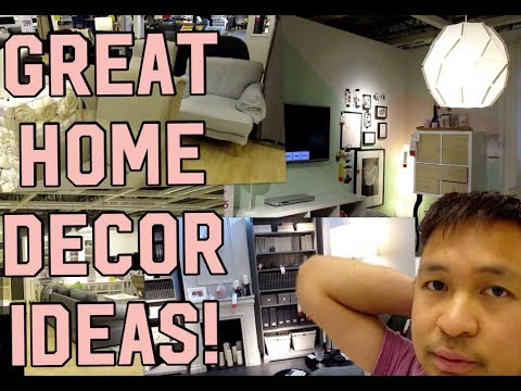 Living room, kitchen & bedroom ideas / Home tour IKEA Calgary (2/3)