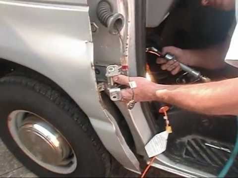 2001 Ford E 350 Super Duty Door Hinge Install Youtube