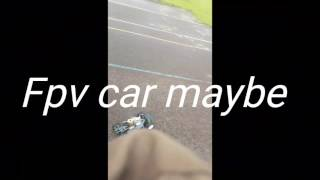 Kyoto nitro rc tearing it up fpv car maybe?