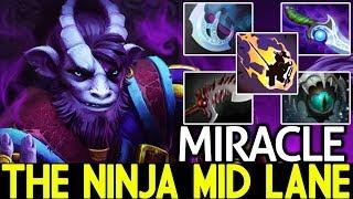 Miracle- [Riki] The Ninja Mid Lane Style Game is so Hard 7.21 Dota 2