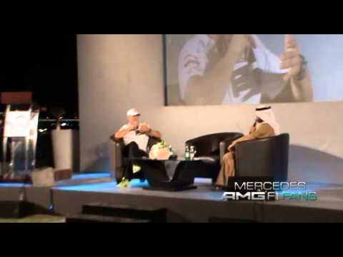 EMC and Mercedes Benz 50 years (Nico Rosberg and Michael Schumacher)