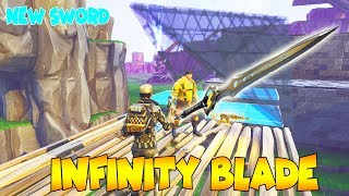 Rich Stupid Scammer Has *NEW* INFINITY BLADE 😱(Scammer Gets Scammed) Save The World PVE