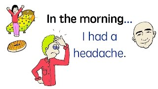 My Day | Past Tense | English Speaking Practice | ESL | EFL | Updated