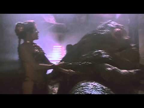 Alternate Slave Leia Footage: Choking Jabba - YouTube Jabba The Hutt Choked