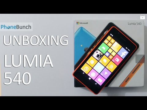 Microsoft Lumia 540 Unboxing and Hands-on Overview