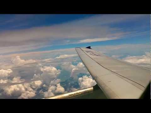 [Thai Airways] タイ国際航空 Flight to Bangkok,Thailand / Suvarnabhumi Airport Landing