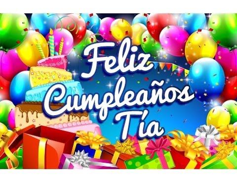 Feliz Cumpleanos Querida Tia Feliz Cumpleaños Tía – Saludos