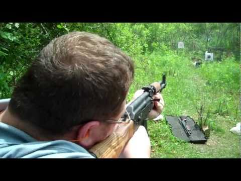 Ak-47 Vs Laptop! Golden Bear Vs. Golden Tiger Ammo! video