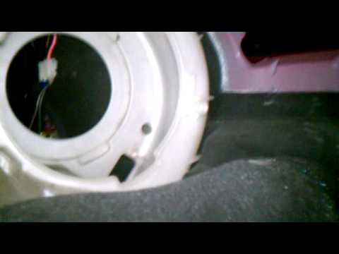 How to remove Mazda 3 a/c blower motor and fan res