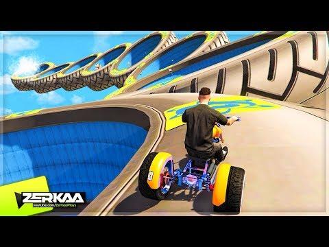 99.9% IMPOSSIBLE SKY BIKE RACE! (GTA 5)