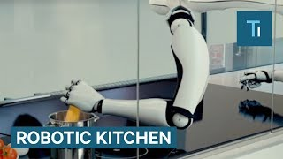 This Robotic Chef Does All The Cooking For You