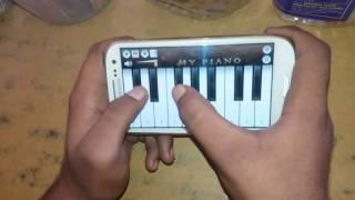 Jeeta Tha jiske liye piano app by Ajay Ahir