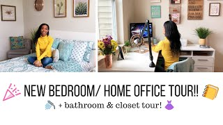 UPDATED ROOM/ HOME OFFICE TOUR!! // Jessica Tull