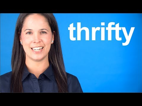 How to Say THRIFTY — American English pronunciation