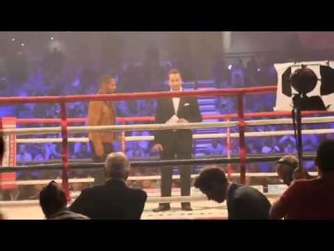 KELL BROOK ENTERS THE RING IN FRONT OF ADORING SHEFFIELD CROWD TO SUPPORT FRIEND KID GALAHAD