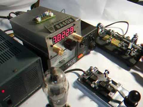 Homebrew SW40 CW Transceiver with BG7LMT
