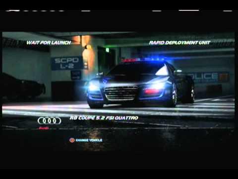 Need for Speed Hot Pursuit Online Interceptor Match 1