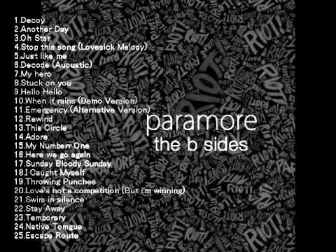 Paramore -The B Sides (Full album)