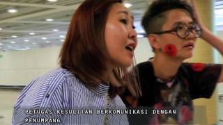 Membawa Banyak Barang Elektronik, Penumpang Dikenai Pajak Part 02 - Indonesia Border 12/06