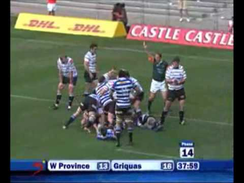 Western Province vs Griquas Currie Cup -Rugby Video Highlights 2011