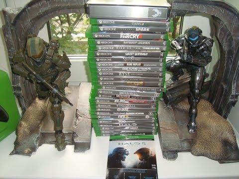Мои игры для Xbox One. Чего накопилось за все время