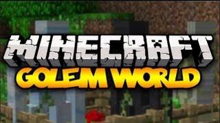 Minecraft: GOLEM WORLD! (15 new golems!) | Mod Showcase [1.6.2]