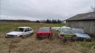 Abandoned House with cars