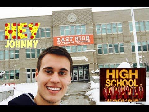 10 anos de High School Musical - Visitando o East High / Visiting East High