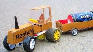 How To Make a Powered US Tractor - RC Tractor