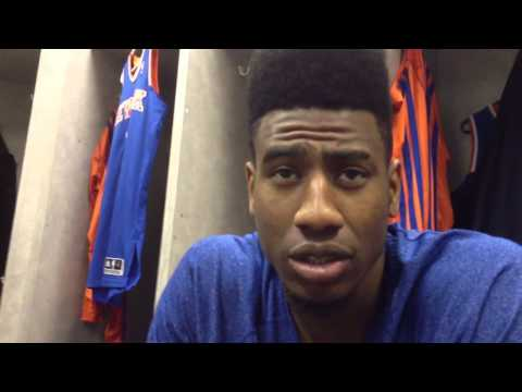 New York Knicks Iman Shumpert talks about J.R. Smith