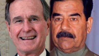 Wikileaks Reveals Saddam And Bush Negotiated Before Kuwait Invasion  8/31/13