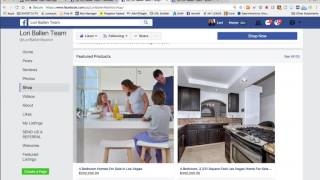 💻  Real Estate Facebook Pages Hacks‼️ 🤛 Store, Products, Reviews and More 2017