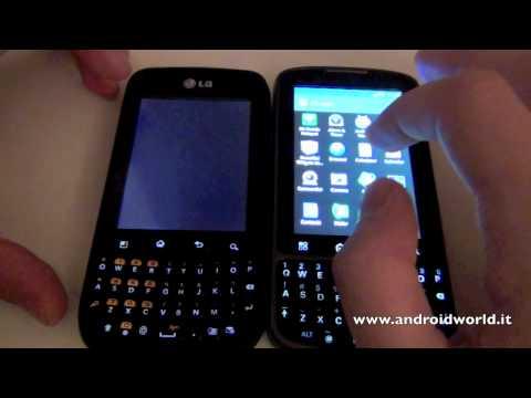Confronto fra LG Optimus Pro e Motorola Pro