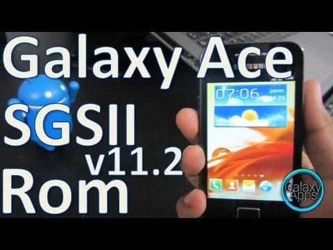 [How to] La mejor rom para Galaxy Ace: SGSII v11.2 (Español Mx)